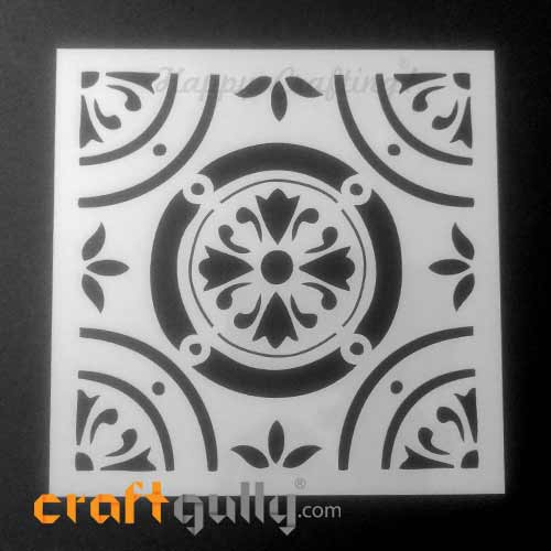 Stencils 150mm - Tiles #2