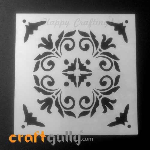 Stencils 150mm - Tiles #4