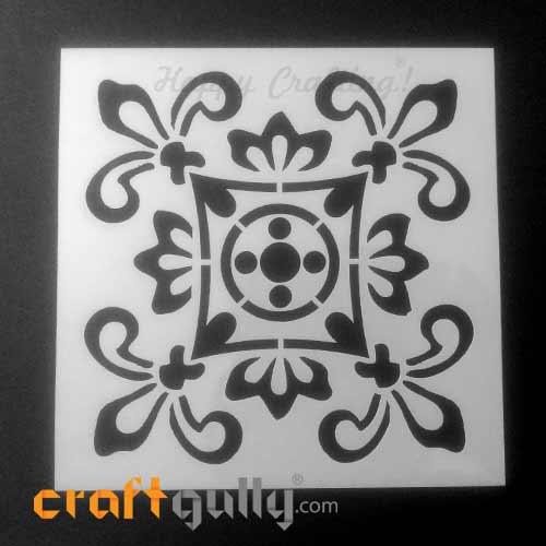 Stencils 150mm - Tiles #5