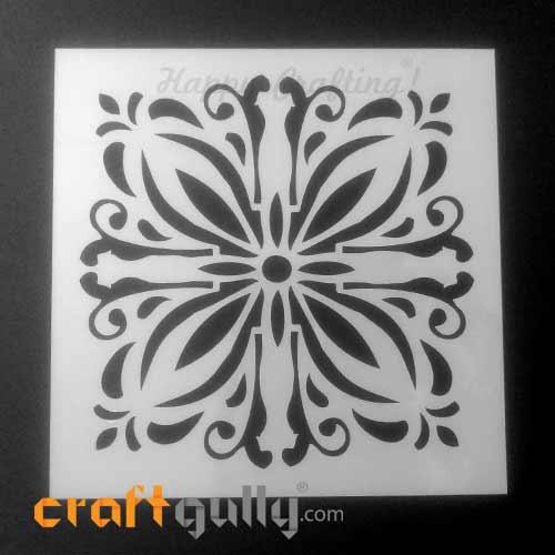 Stencils 150mm - Tiles #6