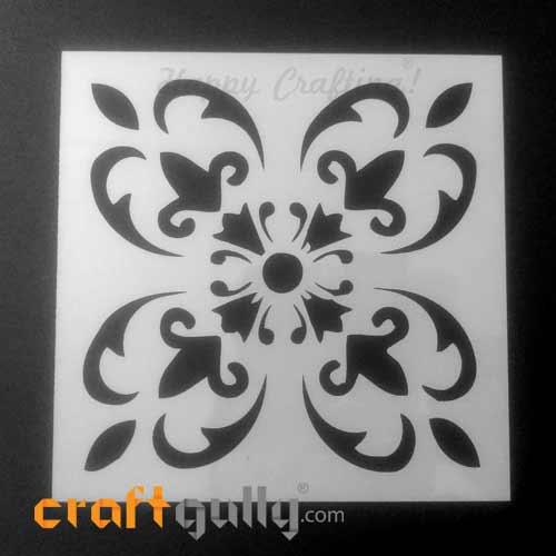 Stencils 150mm - Tiles #7