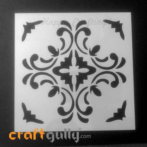 Stencils 150mm - Tiles #8