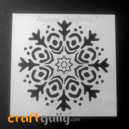 Stencils 150mm - Snowflakes #1