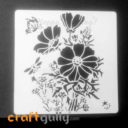 Stencils 130mm - Blossoms #2