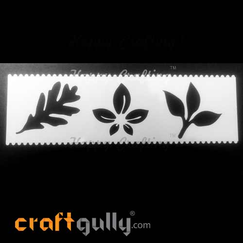 Stencils 185mm - Leaves #1