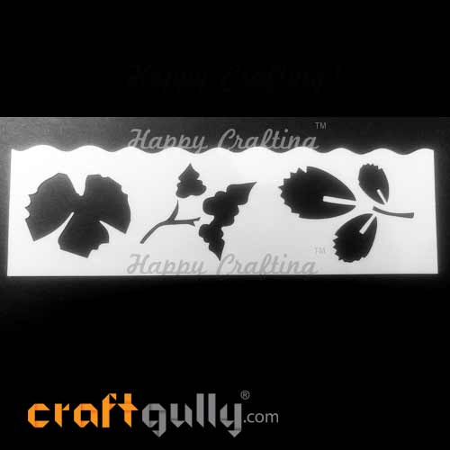 Stencils 185mm - Leaves #2