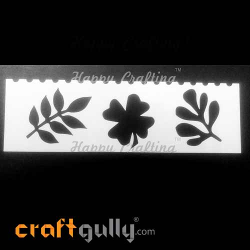 Stencils 185mm - Leaves #4
