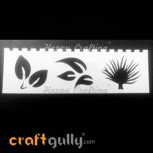 Stencils 185mm - Leaves #5