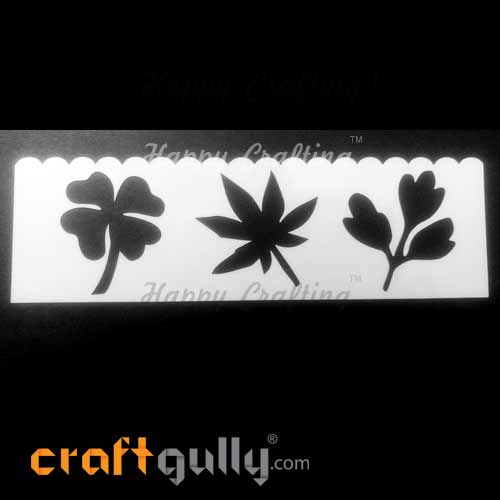 Stencils 185mm - Leaves #6