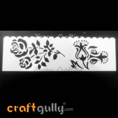 Stencils 185mm - Florals #1