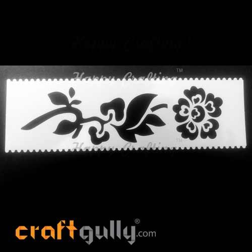 Stencils 185mm - Florals #2
