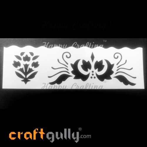 Stencils 185mm - Florals #3