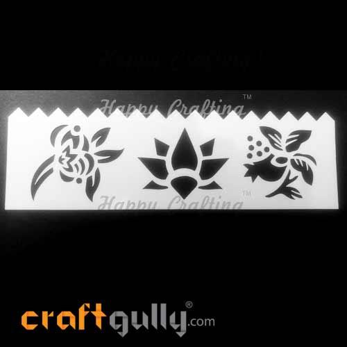 Stencils 185mm - Florals #4