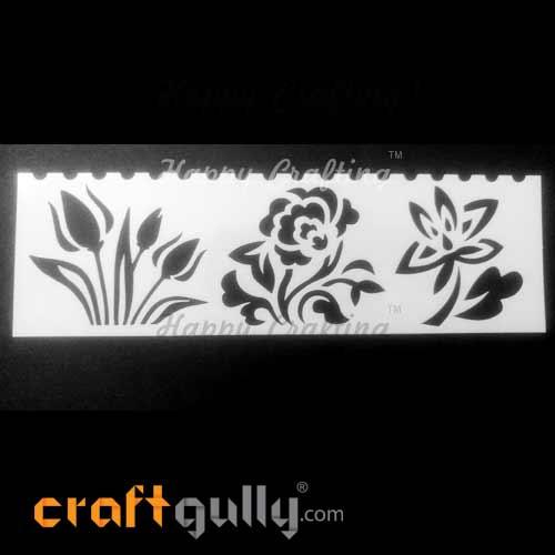 Stencils 185mm - Florals #5