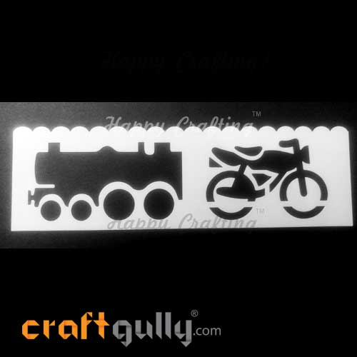 Stencils 185mm - Transport #9