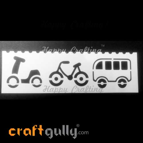 Stencils 185mm - Transport #10
