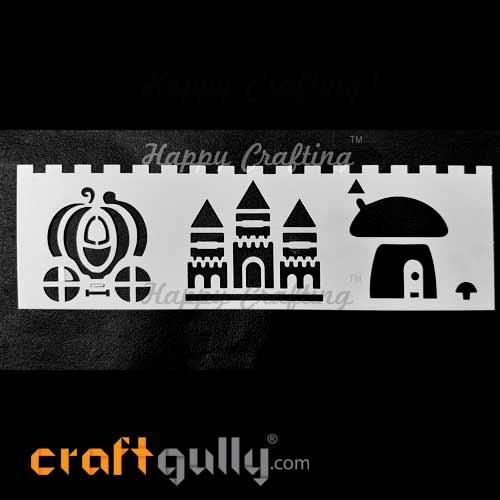 Stencils 185mm - Architecture #4