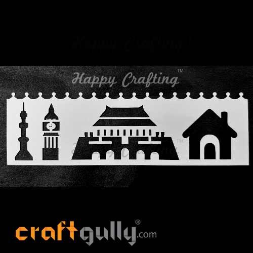 Stencils 185mm - Architecture #7