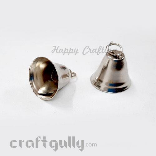 Bells #2 - 21mm - Gun Metal - 2 Bells