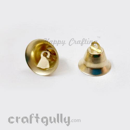 Bells #3 - 21mm - Golden - 4 Bells
