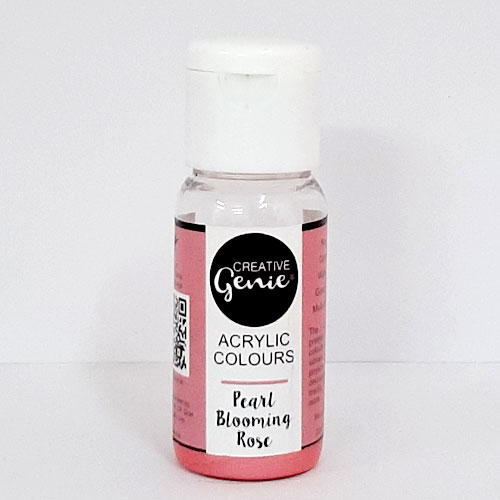 Acrylic Paints - Pearl Blooming Rose - 20ml