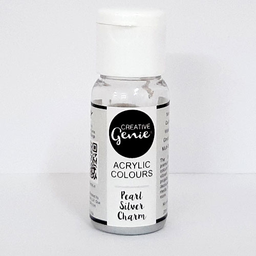 Acrylic Paints - Pearl Silver Charm - 20ml