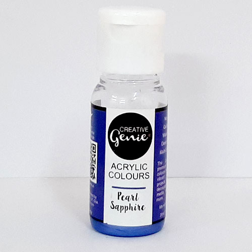 Acrylic Paints - Pearl Sapphire - 20ml