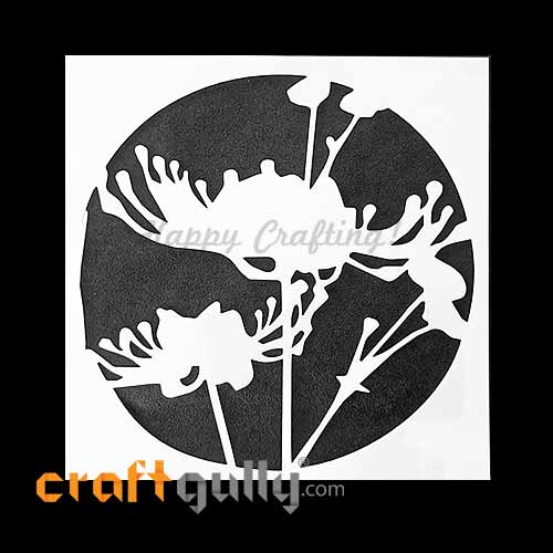 Stencils 130mm - Blossoms #5