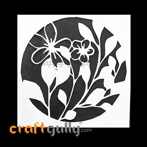 Stencils 130mm - Blossoms #7