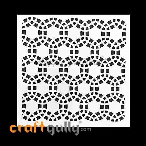 Stencils 130mm - Pattern Seamless #8