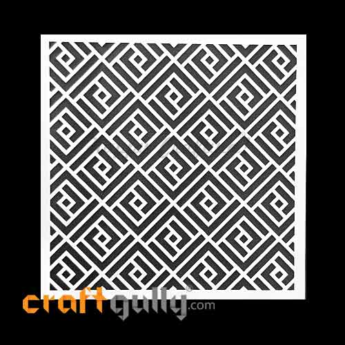 Stencils 130mm - Pattern Seamless #12