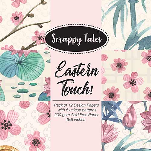 Pattern Paper 6x6 - Eastern Touch - Pack of 12