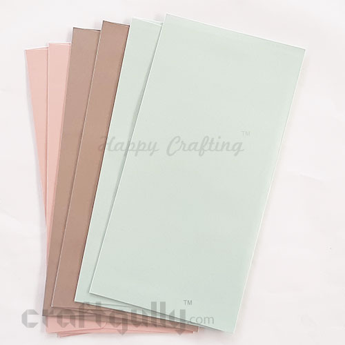 Envelopes DL Size - Metallic Assorted #2 - Pack of 6