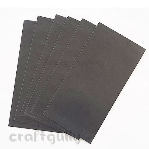 Envelopes DL Size - Metallic Black - Pack of 6