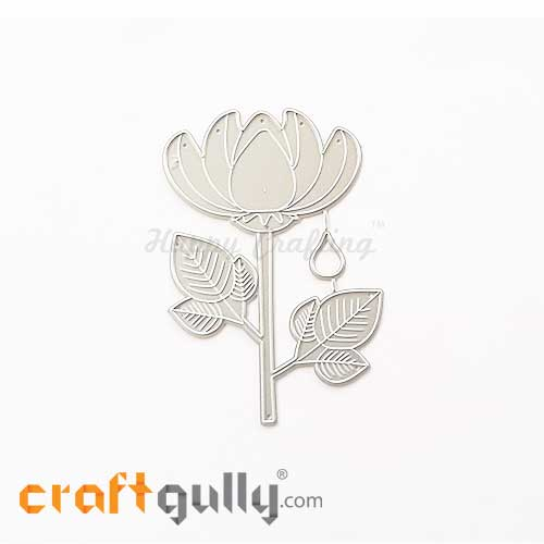 Dies - Metal - Flowers - Lotus - Pack of 1