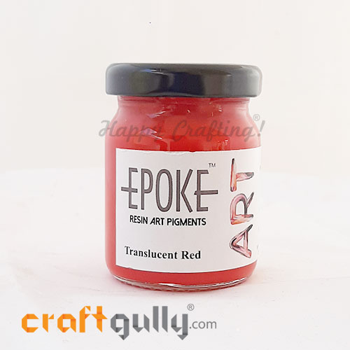 Epoke Art Pigment Paste - Translucent Red - 70g