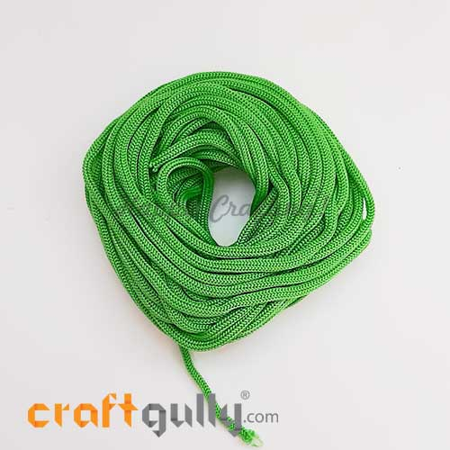 Cords 3mm Nylon - Macrame - Green - 10 meters