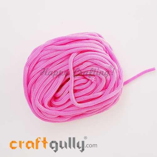 Cords 3mm Nylon - Macrame - Pink - 10 meters