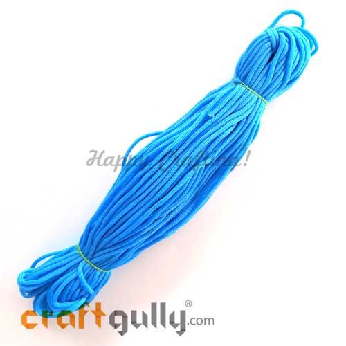 Cords 3mm Nylon - Macrame - Sky Blue - 150 gms