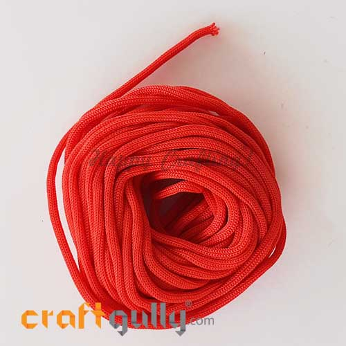 Cords 3mm Nylon - Macrame - Red - 10 meters