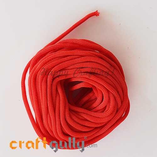 Cords 3mm Nylon - Macrame - Red - 10 meters