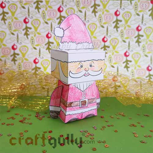 Paper Toy Kit - 3D Santa Claus