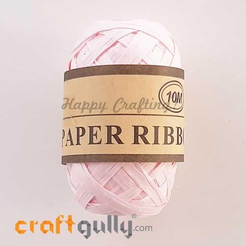 Paper Ribbons 5mm - Baby Pink - 10 meters