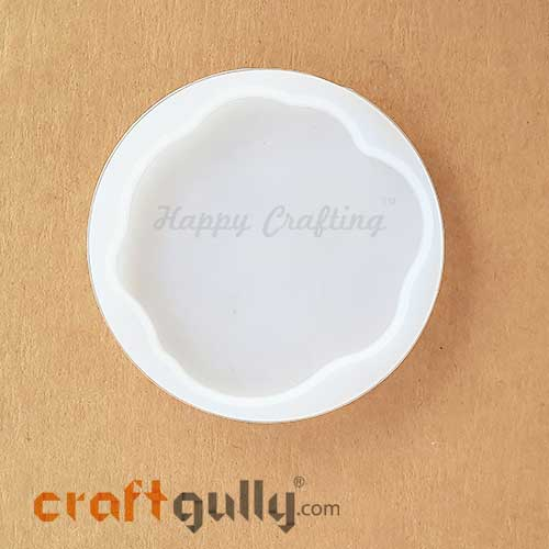 Silicone Moulds - Coasters #1 - Round - Pack of 1