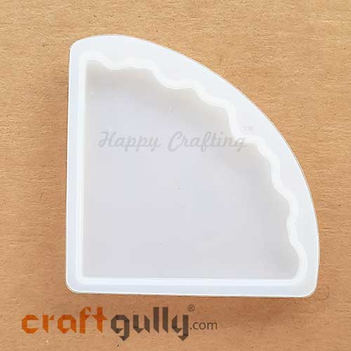 Silicone Moulds - Coasters #3 - Corner - Pack of 1