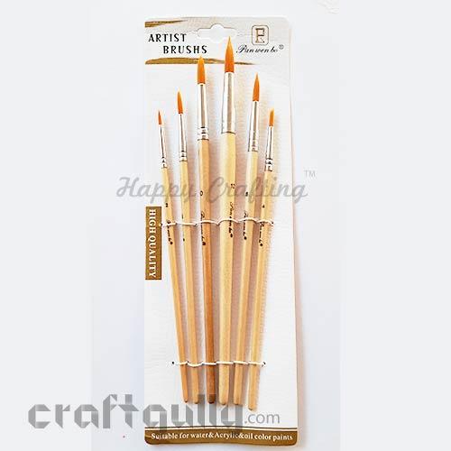 Brushes - Round #2 - Set of 6