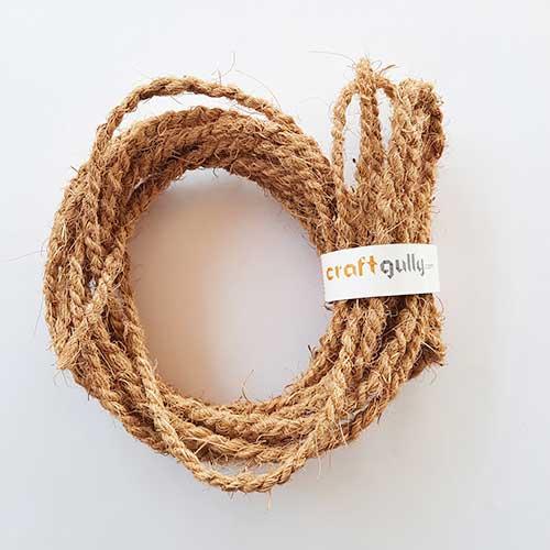 Coir Rope - Natural - 6 meters