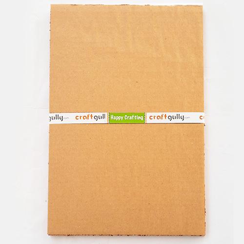 Corrugated Sheets 3 Ply - A4 - 2 Sheets