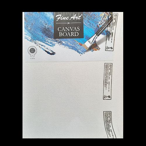 Fine Art Canvas Board - 8x10 inches - Pack of 1