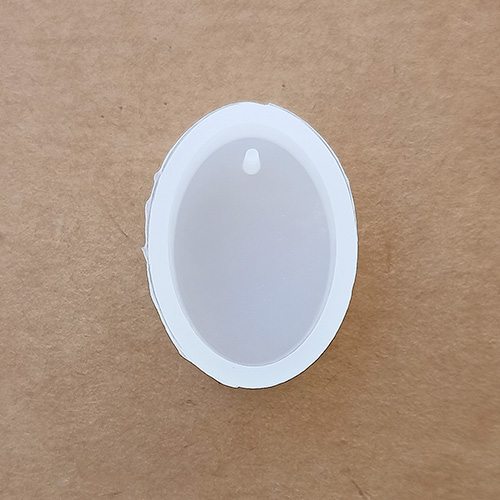 Silicone Moulds - Pendant #1 - Oval - Pack of 1